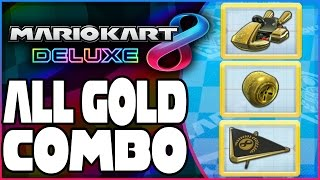 Download How To Unlock Gold Kart, Gold Tires, & Gold Glider In Mario Kart 8 Deluxe! Video