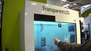 Download Samsung Transparent Screen Display CeBIT 2011 Video
