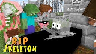 Download Monster School | RIP SKELETON | Monster School Video
