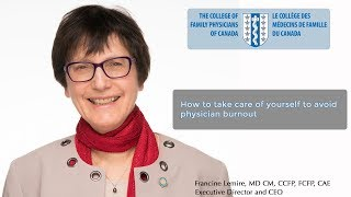 Download How to take care of yourself to avoid physician burnout Video