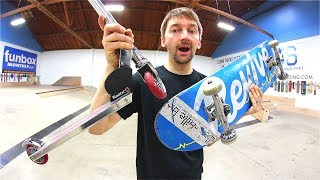 Download SCOOTERS VS SKATEBOARDS Video
