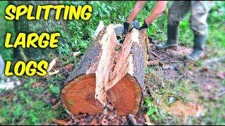 Download Splitting Long Logs Video