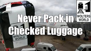 Download 5 Things That You Should NEVER Put in Your Checked Luggage Video
