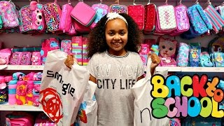 Download BACK TO SCHOOL SHOPPING! SHOES & CLOTHES SUPPLIES Toys AndMe Video