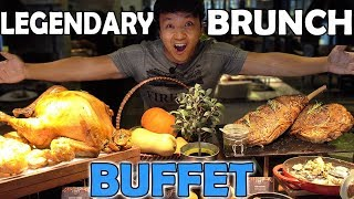 Download AMAZING All You Can Eat BRUNCH BUFFET in Jakarta Indonesia Video