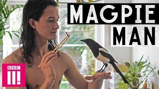 Download My Unusual Life | The Man Who Lives With a Magpie Video