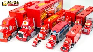 Download Learning Color Number with Special Disney Pixar Cars Lightning McQueen Mack Truck for kids car toys Video