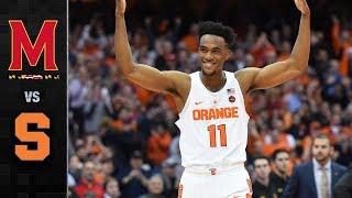 Download Maryland vs. Syracuse Basketball Highlights (2017-18) Video