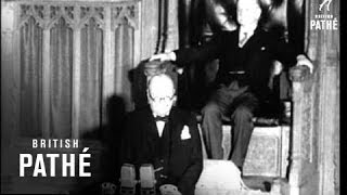 Download 'some Chicken - Some Neck!' Mr Churchill At Ottawa (1942) Video