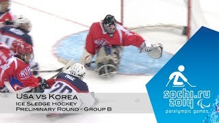 Download USA vs Korea highlights | Ice sledge hockey | Sochi 2014 Paralympic Winter Games Video