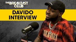 Download Davido Talks Nigerian Upbringing, Afrobeat Success + More Video