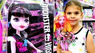 Download Monster High Gooliope ve Drakulaura oyuncaklarını tanıştıroyoruz Video
