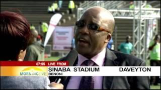 Download Dr Aaron Motsoaledi on World Aids Day Video