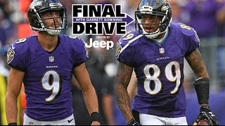 Download Steve Smith Cracks On Justin Tucker And 'Evolution of Kicking' | Final Drive | Baltimore Ravens Video