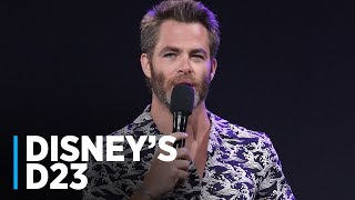Download A WRINKLE IN TIME: Chris Pine at Disney's D23 2017 Video