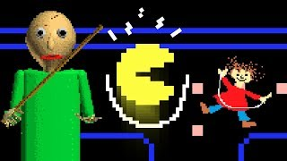 Download BALDI vs Pacman Video