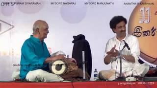Download Umayalpuram Sivaraman-Anantha R Krishnan -thani avarthanam Video
