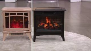 Download Duraflame Infrared Quartz Stove Heater with 3D Flame Effect & Remote on QVC Video