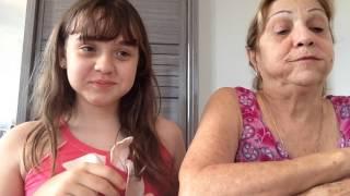 Download Desafio do Chubby Bunny- Com a minha avó Video