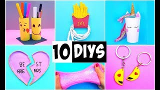 Download MAKING 10 AMAZING DIY BFF Gift Ideas, School Supplies, Room Decor & Organization COMPILATION! Video