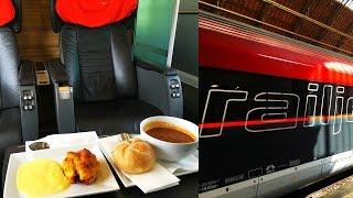 Download ÖBB Railjet Business Class Budapest - Vienna Video