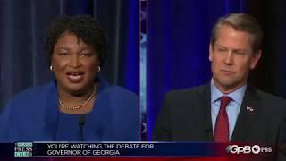 Download Georgia governor debate: Stacey Abrams vs. Brian Kemp - Full Video Video