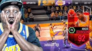 Download 92 HARVEST LEGEND MAGIC JOHNSON IS A MONSTER! NBA Live Mobile 16 Gameplay Ep. 45 Video