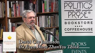 Download David Cay Johnston, ″It's Even Worse Than You Think″ Video