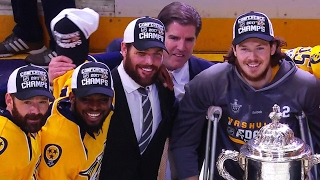 Download Gotta See It: Predators don't touch Clarence S. Campbell Bowl Video
