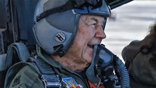Download Eighty-Nine Year Old Chuck Yeager • F-15 Eagle Honor Flight Video