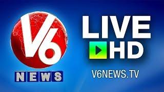 Download V6 Telugu Live News Channel | Ganesh Nimajjanam LIVE | V6 Live TV Video