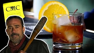 Download Negan's Old fashioned, The Lucille Cocktail 💀 Walking Dead Season 7 Video