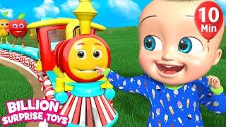 Download Fruits Train Song | BillionSurpriseToys Nursery Rhyme & Kids Songs Video