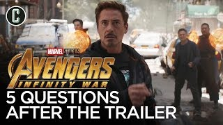Download Avengers: Infinity War - 5 Questions After Watching the Trailer Video