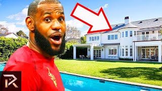 Download 10 Most Insane Mansions Owned By Sports Legends Video