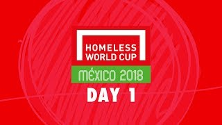 Download LIVE | Day 1 Homeless World Cup 2018 | Pitch 1 Video