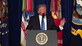 Download THE AFGHANISTAN WAR STRATEGY: President Donald Trump Presidential Speech to Address the Nation Video