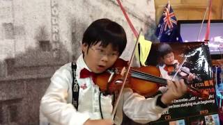 Download Advance Australia Fair/Sydney small busker澳大利亚国歌,由9岁的悉尼街头小名人-松浦龙马演奏 Video