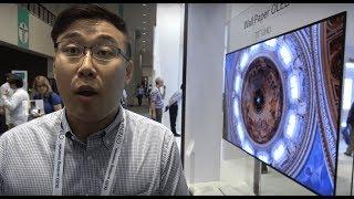 Download LG Display shows 8K 31.5″, Wallpaper OLED, pOLED, Transparent OLED, 4K bezel-less and more Video