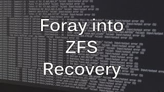 Download Adventure in ZFS Data Recovery Video