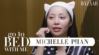 Download Michelle Phan's Nighttime Skincare Routine | Go To Bed With Me | Harper's BAZAAR Video