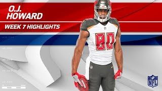 Download O.J. Howard Snags 2 TDs & Nearly 100 Yards! | Buccaneers vs. Bills | Wk 7 Player Highlights Video
