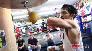 Download Manny Pacquiao - HARD HITTING SPEED BAG Video