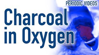 Download Hot Charcoal in Liquid Oxygen (THERMAL IMAGING) - Periodic Table of Videos Video