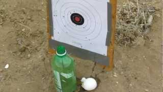 Download Air Rifle Shooting an egg at 100 Yards - HD Video
