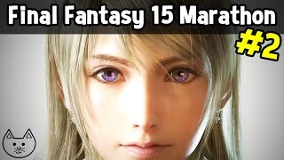 Download Final Fantasy XV / 15 GAMEPLAY MARATHON STREAM #2 (Chocobos, Level 30+) Video