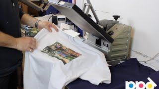 Download Start Your Own T Shirt Printing Business Using Heat Press Transfer Paper Video