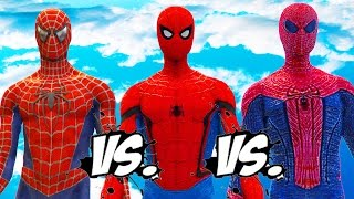 Download THE AMAZING SPIDER-MAN VS SPIDERMAN (CIVIL WAR) VS SPIDER-MAN (2002) Video