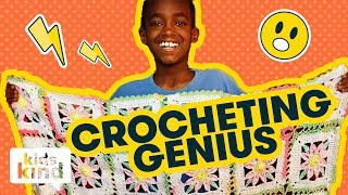 Download The kid who is a crocheting genius | Kidskind Video