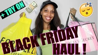 Download BLACK FRIDAY HAUL 2016 +TRY ON | Victoria's Secret, Forever 21, Walmart, Old Navy Video